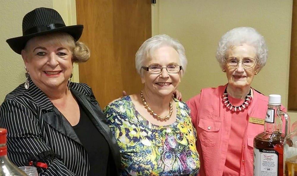 Residents Enjoying Happy Hour at the Senior Living in Carmichael