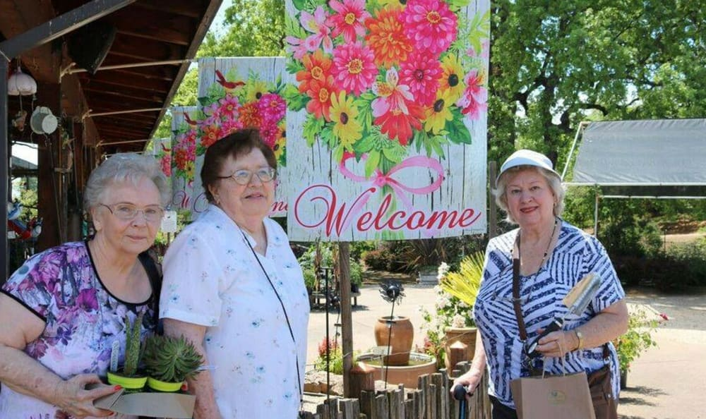 Resident outing at the Senior Living in Carmichael