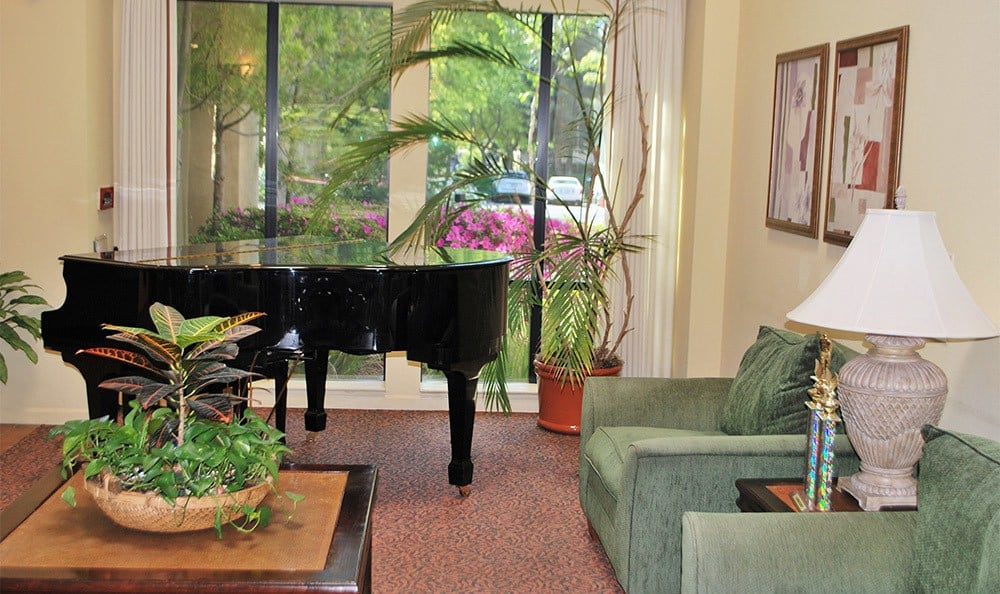 Piano at the Senior Living in Carmichael