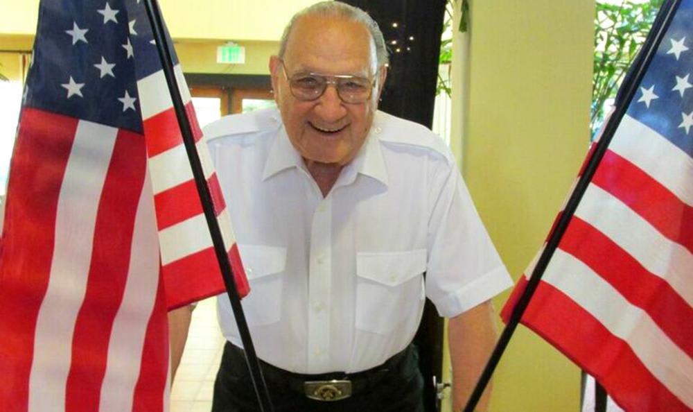 Veterans dat at the senior living community in Carmichael