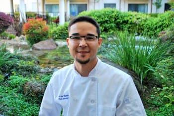 Chef Brian for the senior living community in Roseville