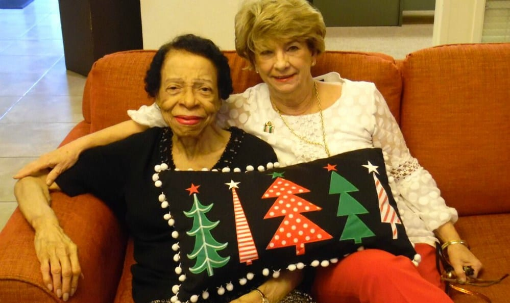 Christmas at the senior living community in Sacramento
