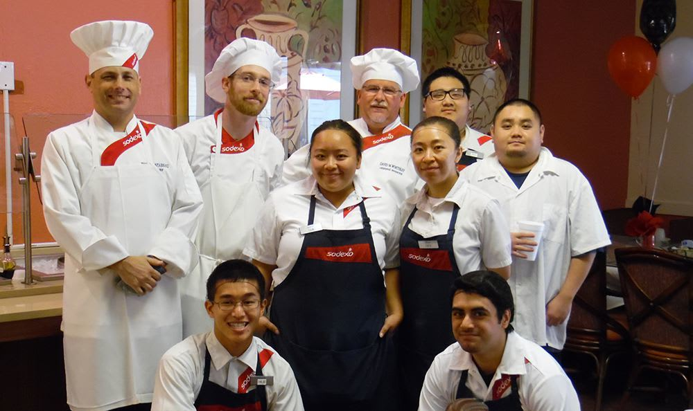 Professional chefs at the senior living community in Sacramento