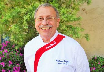 Chef Richard for the senior living community in Sacramento