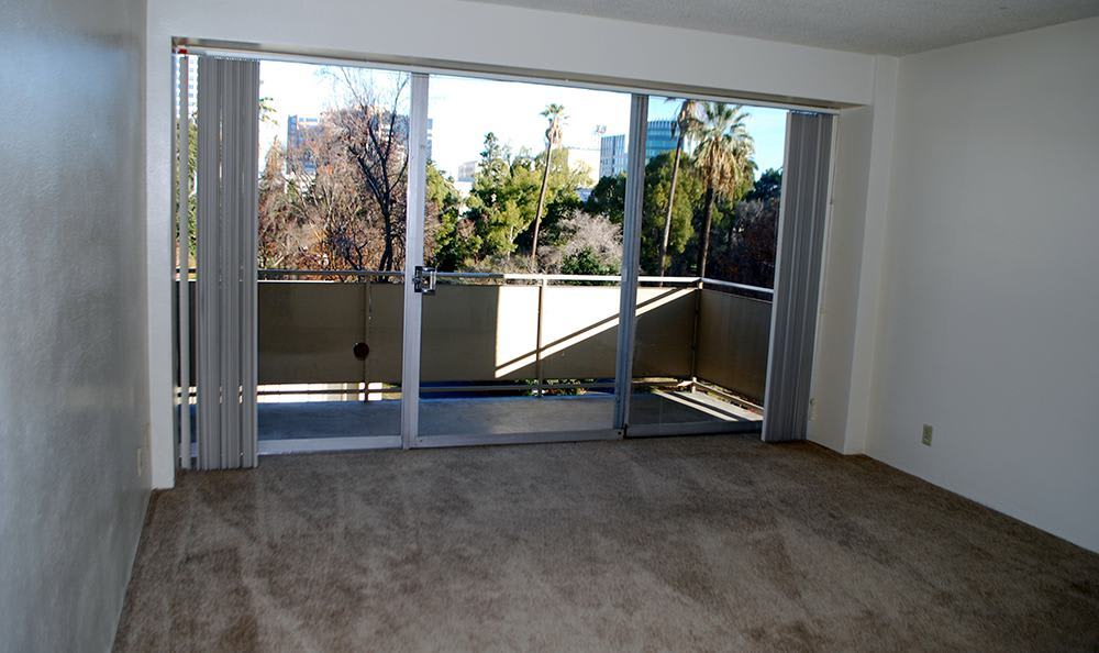 Bright Living Room at the Senior Living community in Sacramento
