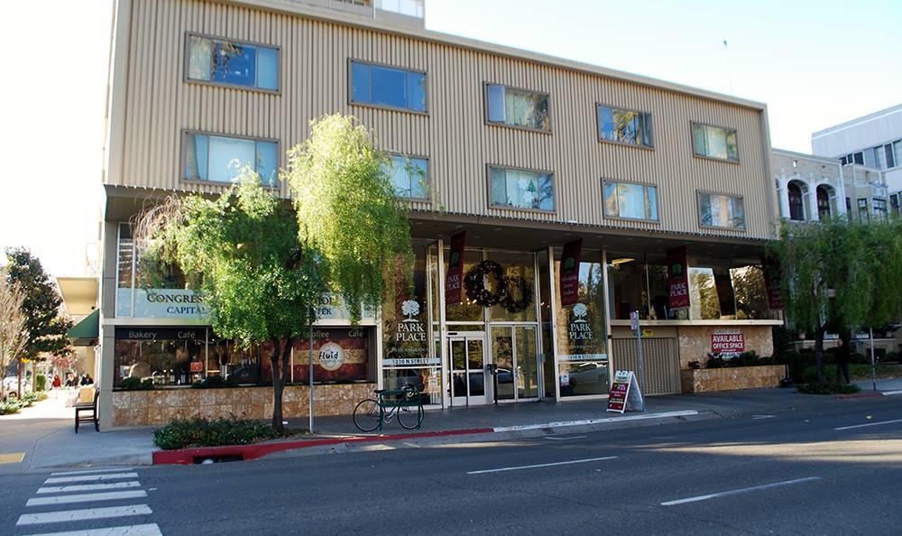 Exterior Building at the Senior Living community in Sacramento