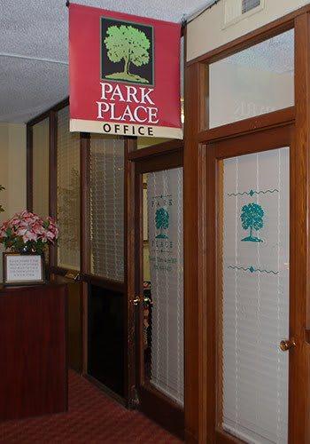 Office at the senior living community in Sacramento