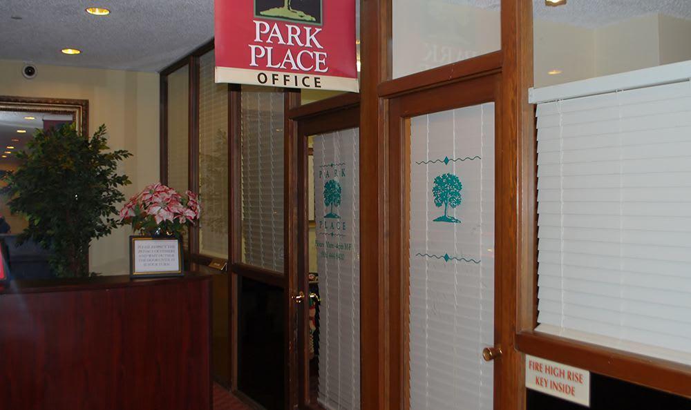 Senior living community in Sacramento have a modern office