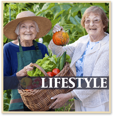 Lifestyle at the senior living community in Atwater