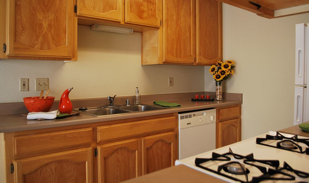Modern Kitchen at the Senior Living Community in Atwater