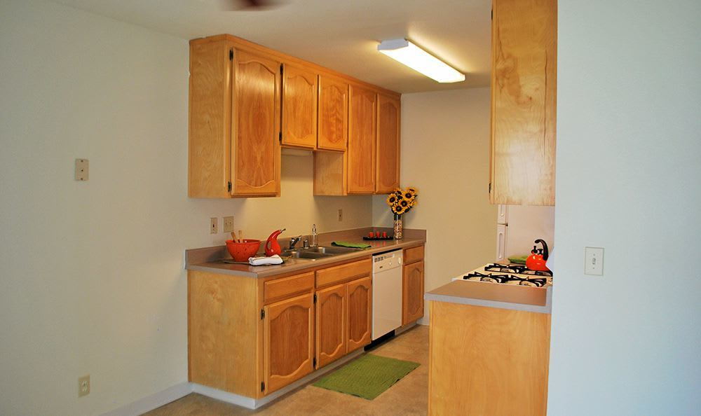 Open Kitchen at the Senior Living Community in Atwater