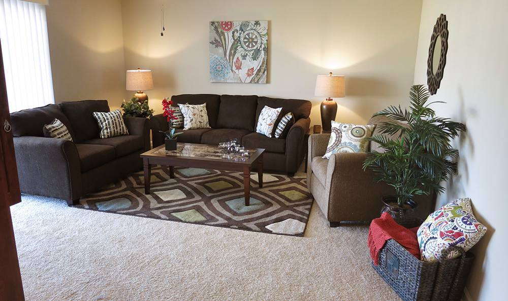 Open Living Room at the Senior Living Community in Atwater