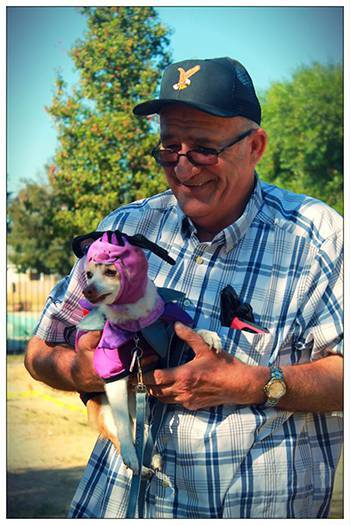 Pet friendly at the senior living community in Atwater
