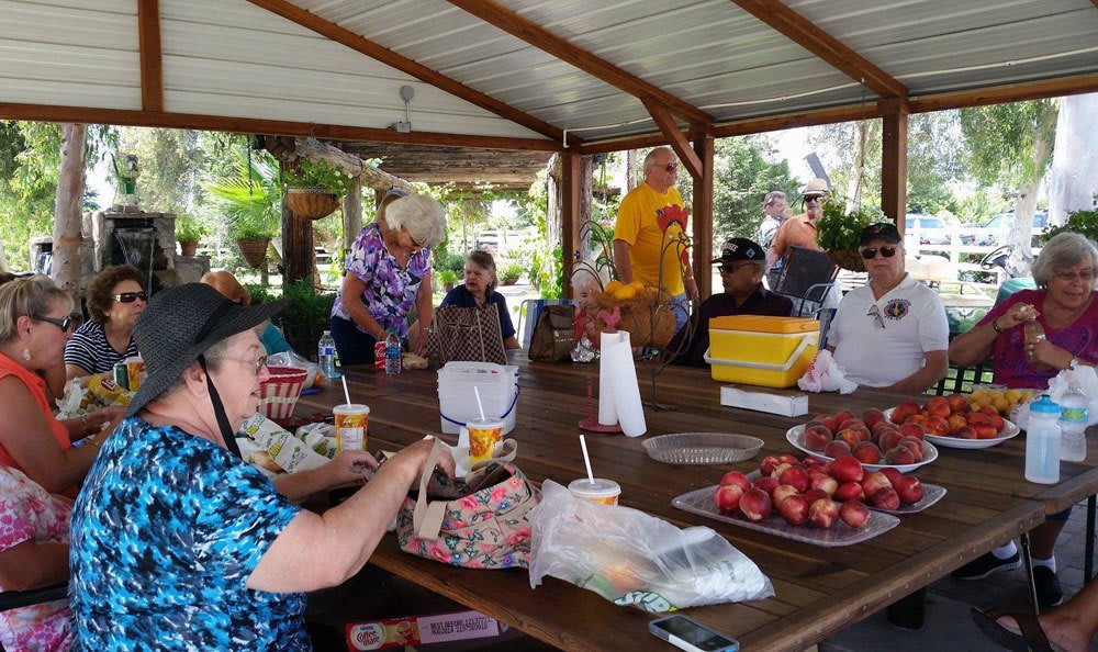 Atwater senior living community picnics