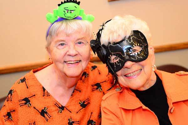 Halloween part at River Commons Senior Living
