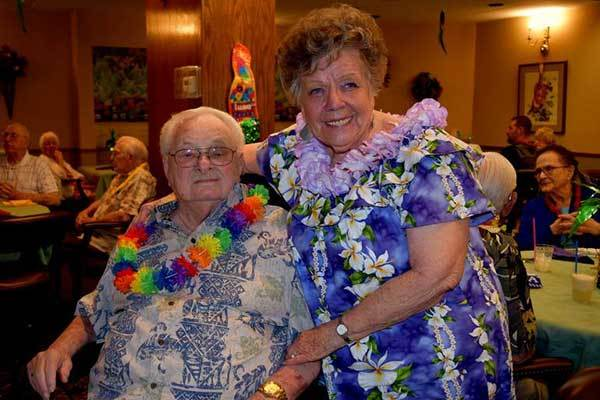 Our residents learned how to hula at River Commons Senior Living.