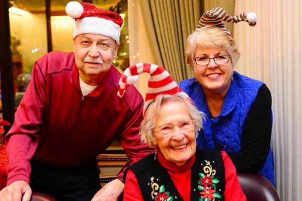 Merry Christmas from River Commons Senior Living.