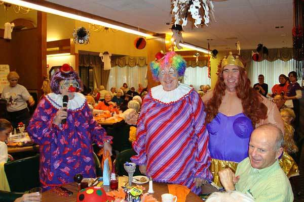 River Commons Senior Living costume party!