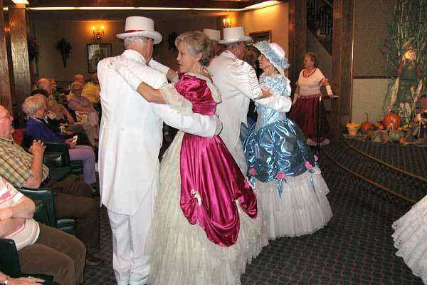 Residents enjoy dancing at River Commons Senior Living.