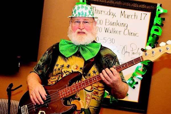 River Commons Senior Living St. Patrick's Day Rock Party!