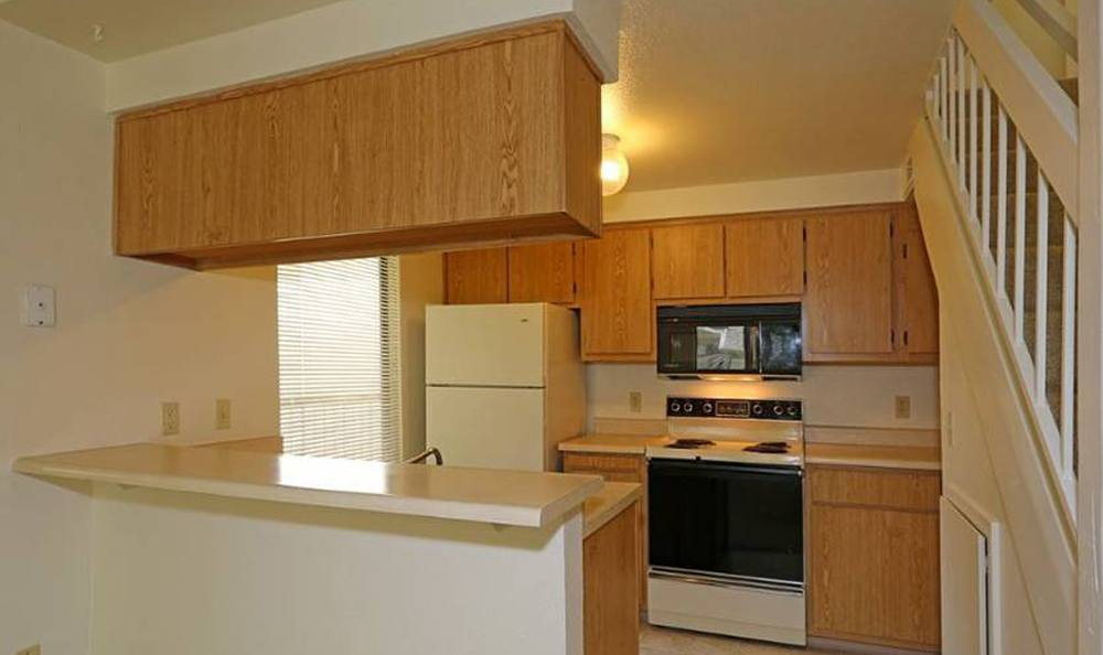 Open Kitchen Area Apartments Fair Oaks Gallery