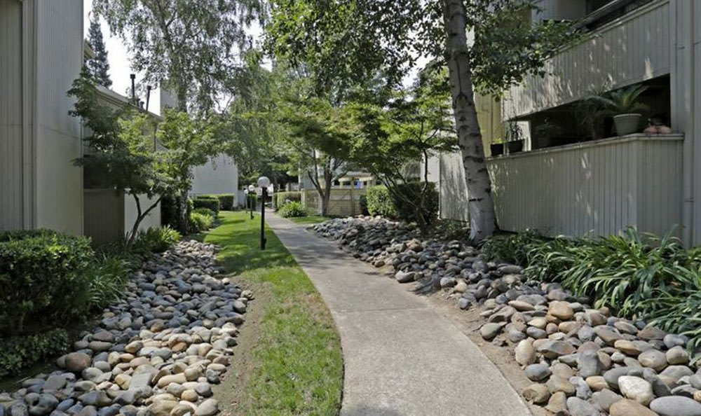 Relaxing Walk Way at the Apartments for rent in Fair Oaks