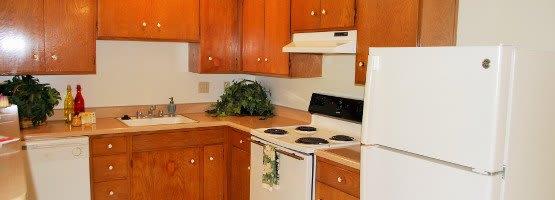 Kitchen at Arden Palms Apartments