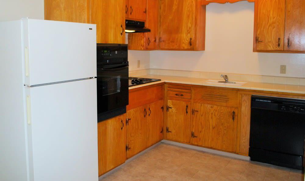 Kitchen at Corabel Lane Apartments