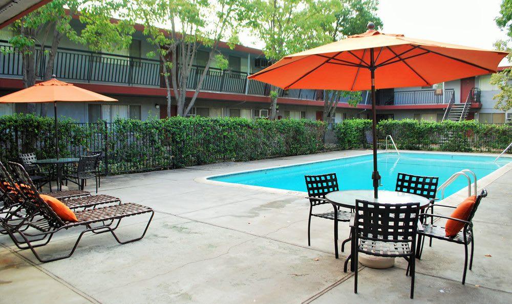 Pool At Our Sacramento Rental Apartments