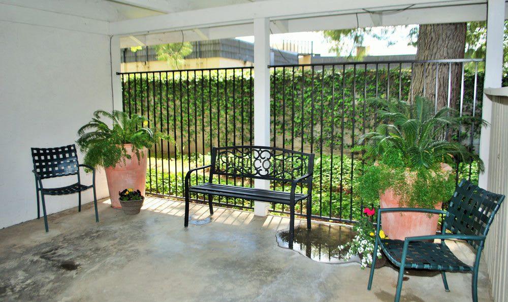Patio at San Juan Hills in Fair Oaks, CA