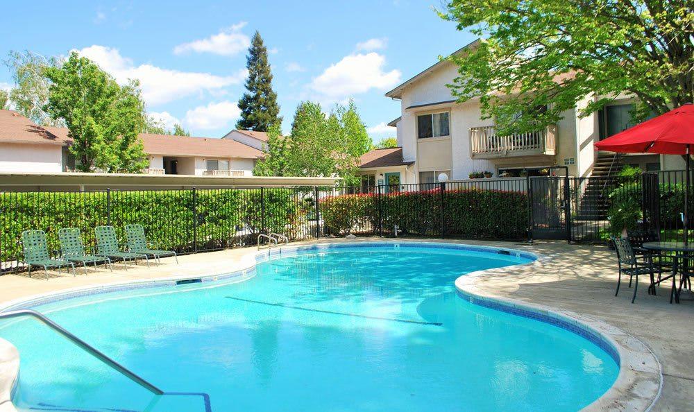 Pool at San Juan Hills in Fair Oaks, CA