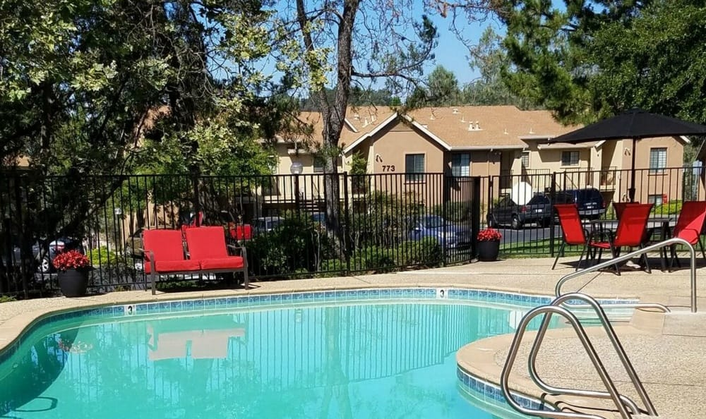Pool At Our Apartments In Auburn Ca