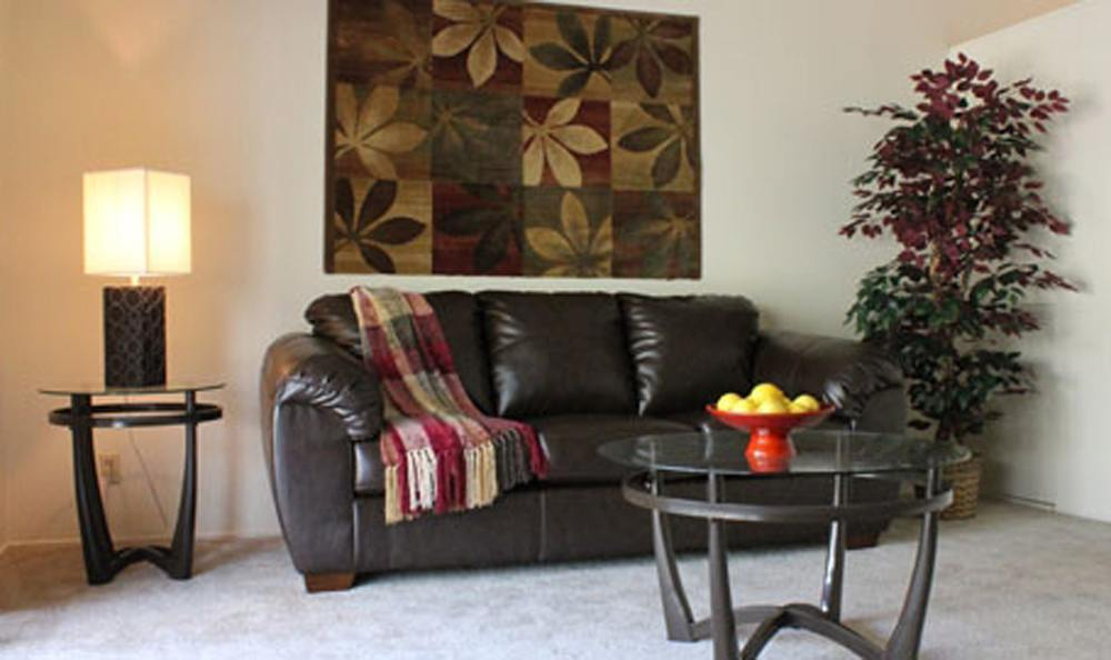 Living Room At Our Sacramento Apartments For Rent