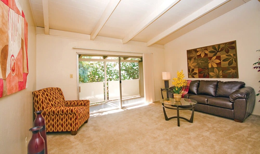 Apartments in Sacramento features spacious living rooms