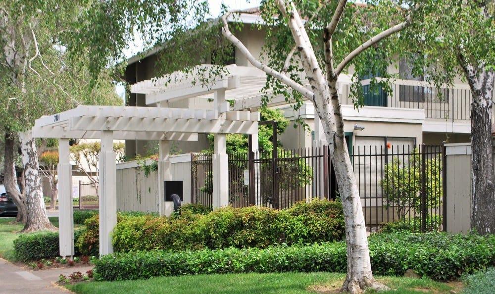 Exterior Of Our Apartments In Sacramento