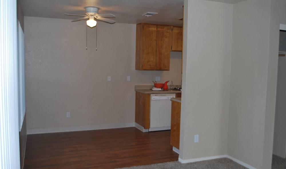 Kitchen at Meritage Apartments in Lodi, CA