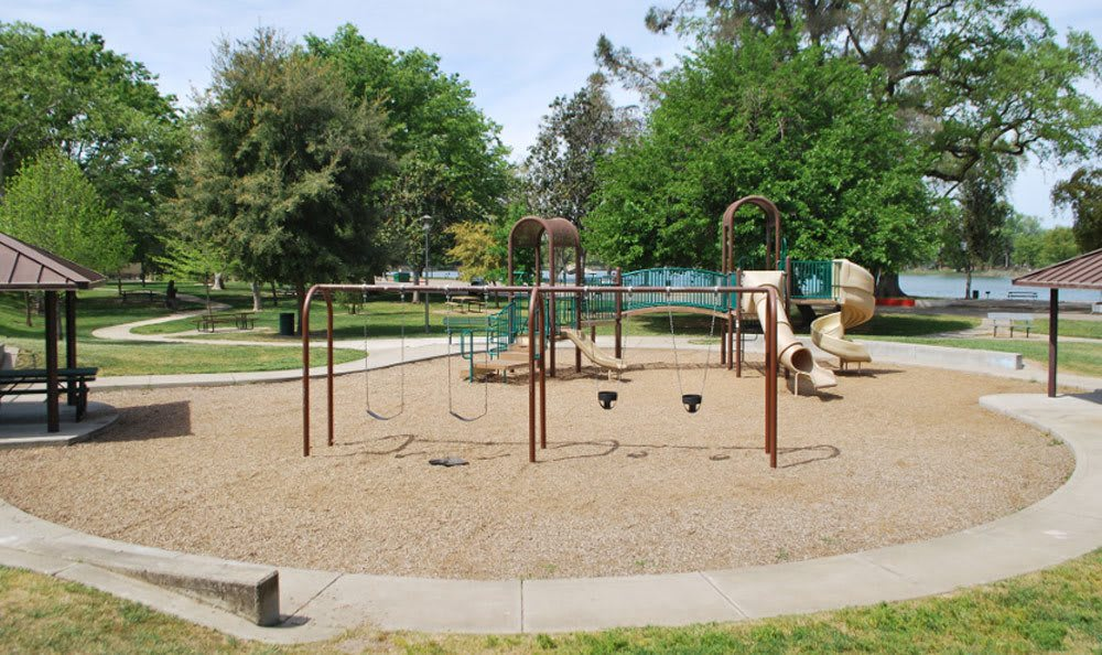 Apartments at Lodi features a playground