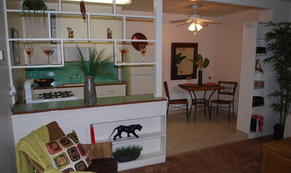 Living Room At Sacramento Apartment Rentals