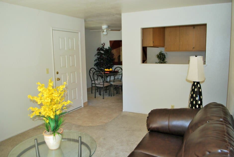 Spacious floor plans at the apartments for rent in Rancho Cordova