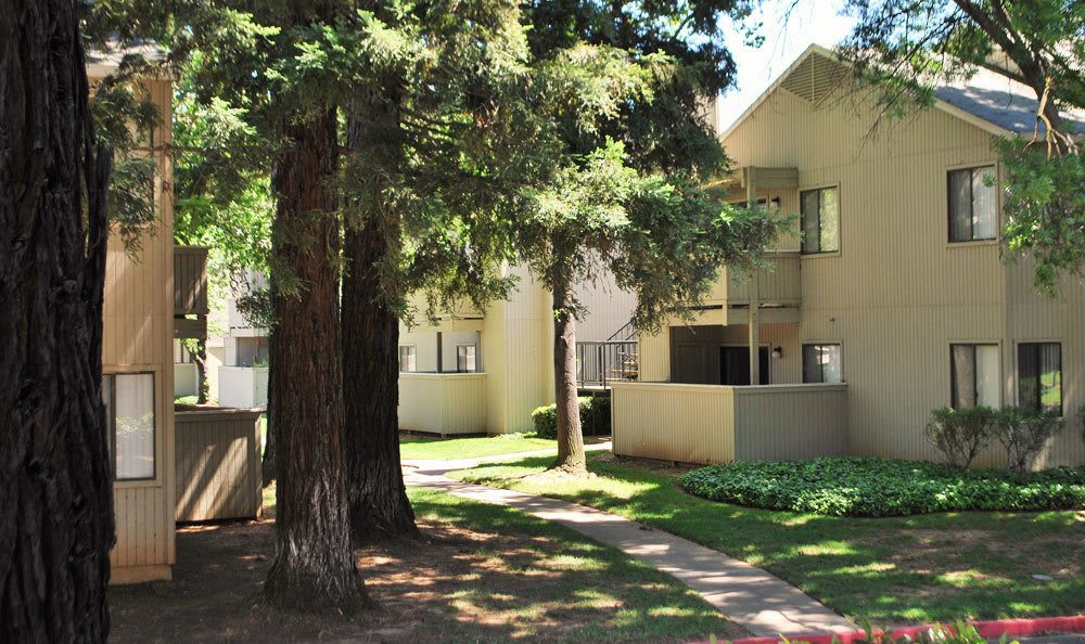 Exterior or apartments in Rancho Cordova