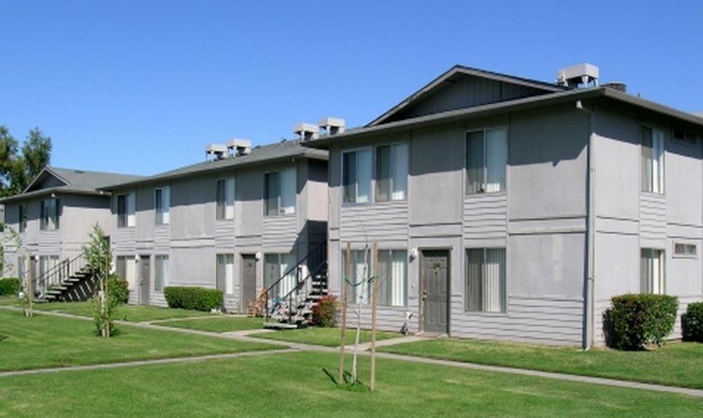 Apartment building at Vineyard Apartments in Ceres, California