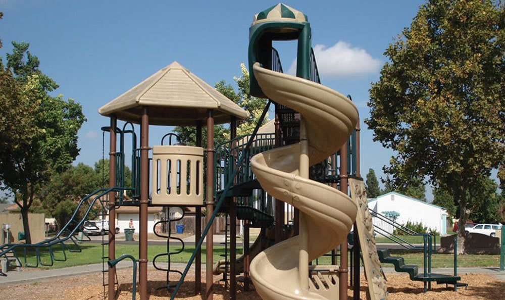 Playground at apartments in Ceres