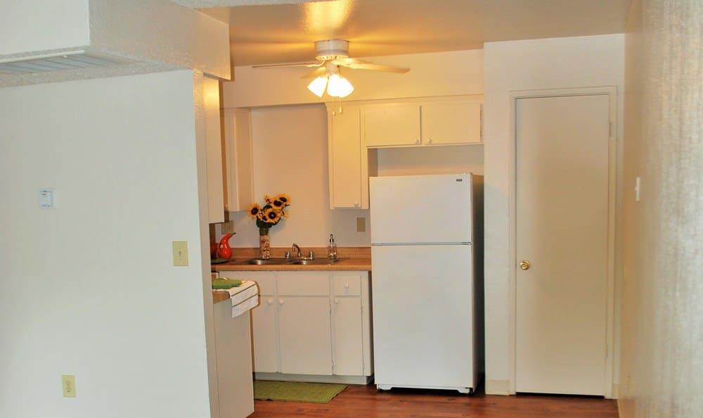 Kitchen at Vineyard Apartments