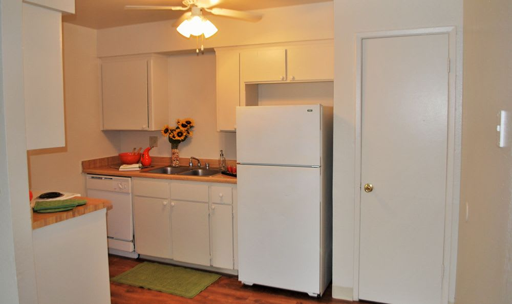 Kitchen at Ceres apartments