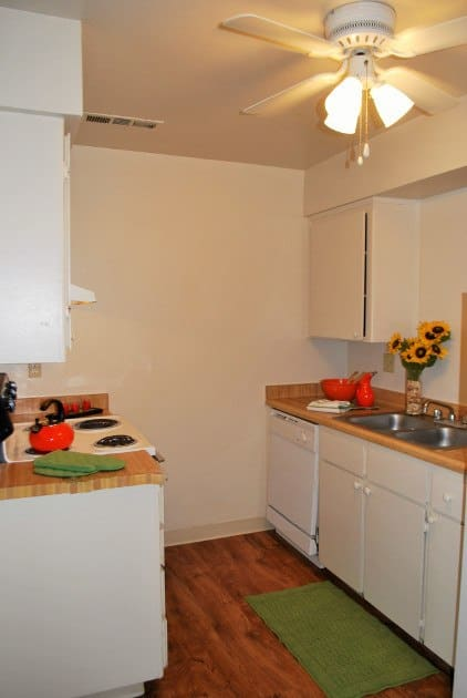 Spacious floor plans at the apartments for rent in Ceres