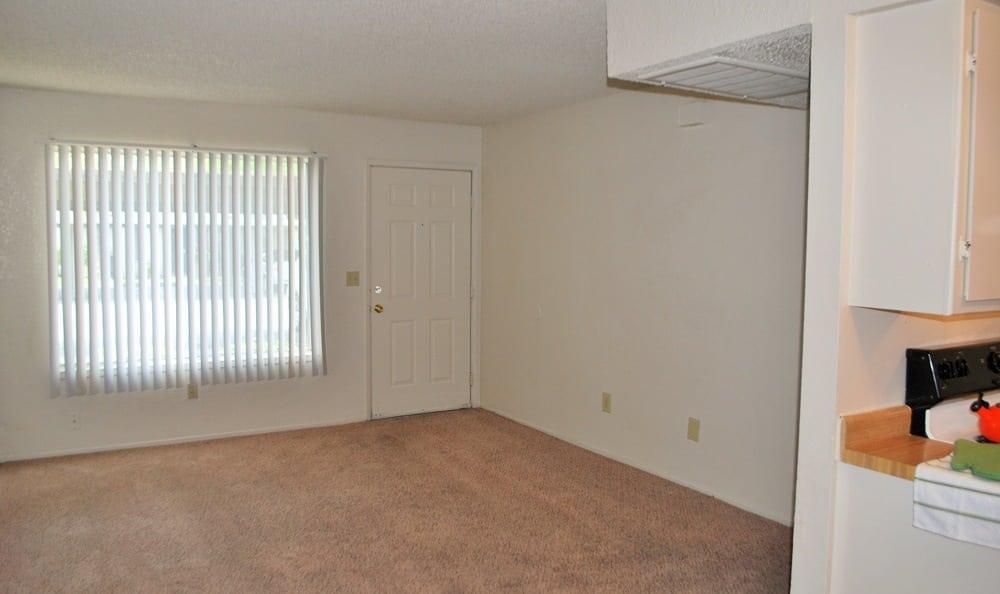 Spacious apartments at Vineyard Apartments