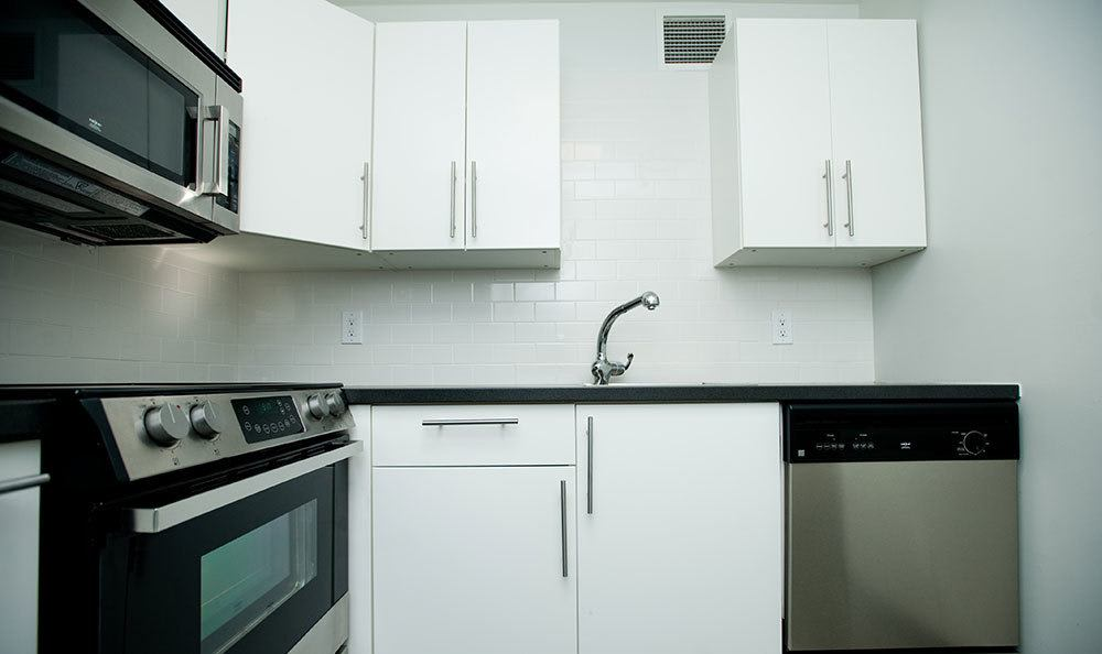 3Fifty8's Lexington apartment kitchens offer the best in modern amenities and design