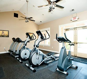 Fitness Center at apartments in Lexington, KY