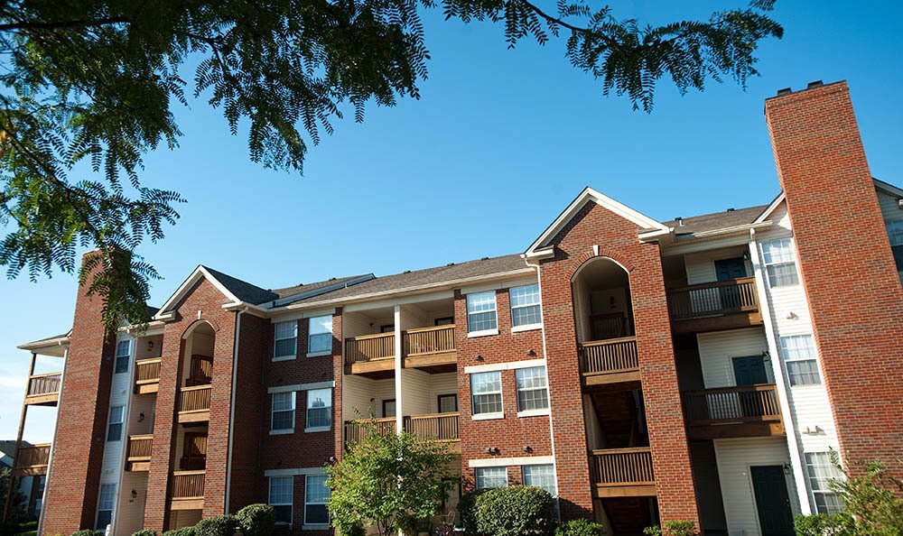 ... Exterior Of Apartments In Lexington Ky