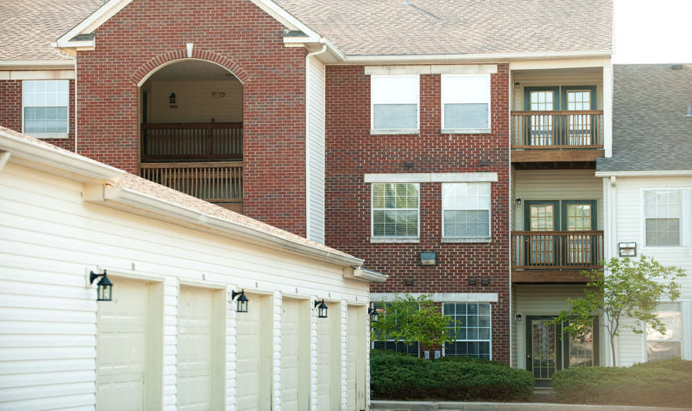 Our building in Beaumont Farms Apartments